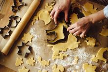Baking Christmas Cookies At Home