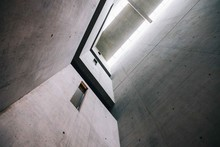 Abstract Concrete Wall Internal Space