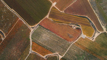 Aerial View Of A Countryside A...