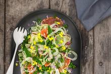 Summer Salad With Blood Oranges