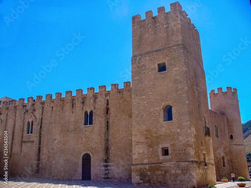 Alcamo castle Canvas Print