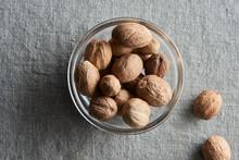 Nutmeg In Bowl