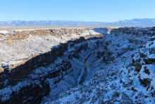The Rio Grande Gorge In Winter...