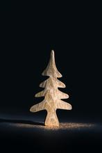Mini Golden Christmas Tree Wit...