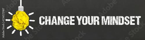 Fotografía  Change your Mindset