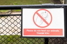 Do Not Feed Animals Donkey At ...