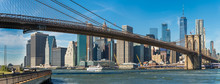 Panoramic View Of Brooklyn Bri...
