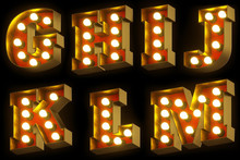 Light Bulb Cinema Or Night Sho...
