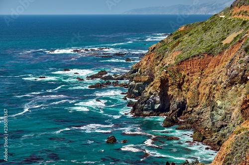 Spoed Foto op Canvas Verenigde Staten Pacific coast landscape in California