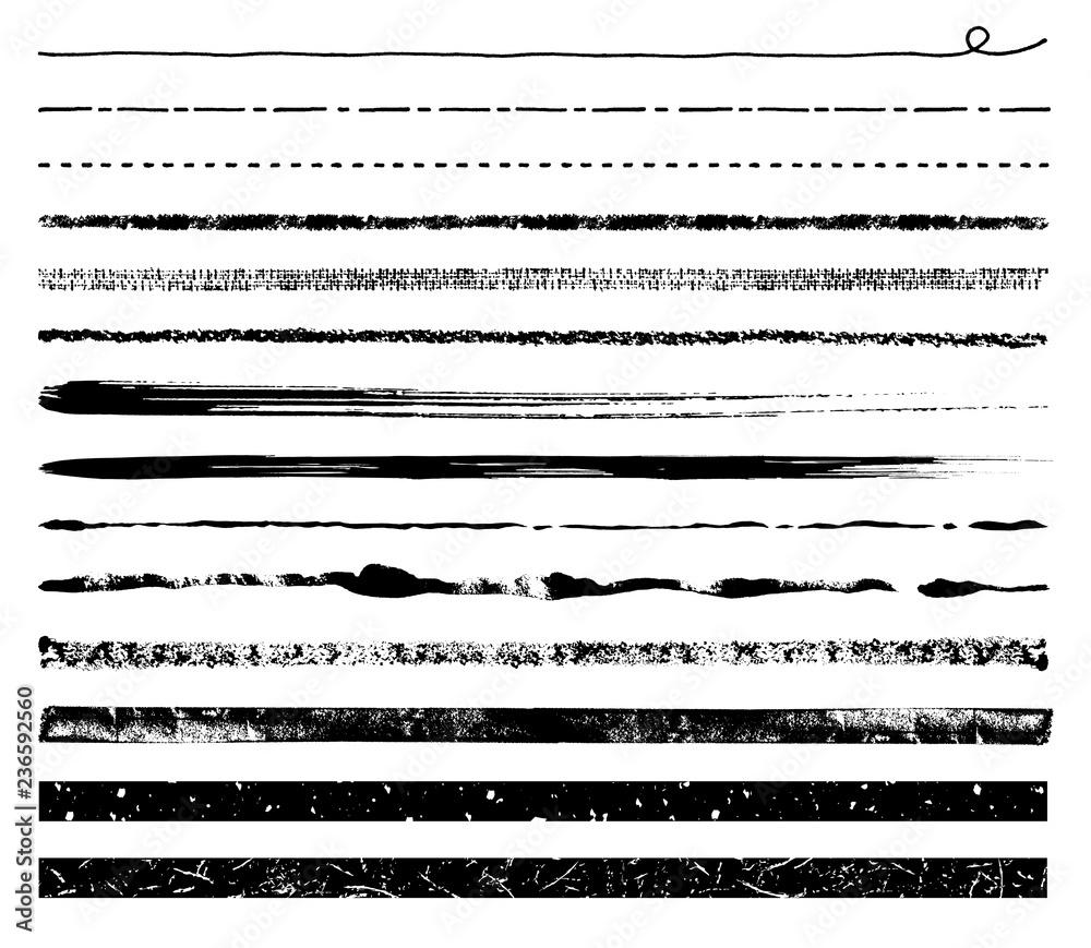 Fototapeta いろいろな手描き線