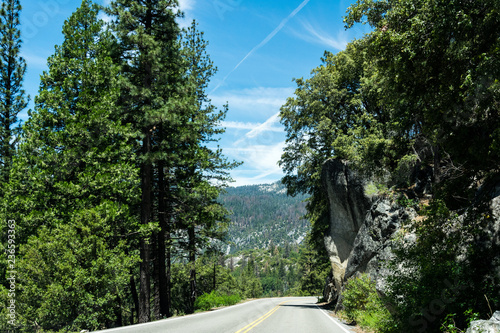 Foto op Aluminium Verenigde Staten Scenic landscape of Yosemite Valley, California, USA