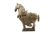 Oriental Clay China Horse Statue