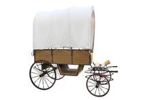 Vintage Prairie Wooden Caravan...