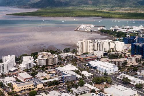 Cairns von oben - Luftbild #2 Poster Mural XXL