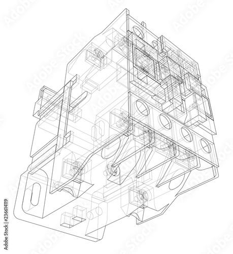 Automatic Circuit Breaker Concept