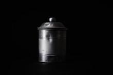 Vintage Metallic Tin For Stori...