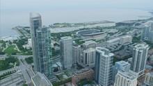 Aerial View Of Lake Michigan O...