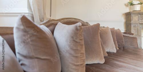 Canvas Prints Coffee beans Sofa and cushions