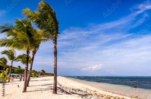Deurstickers Asia land Geger beach on Bali island