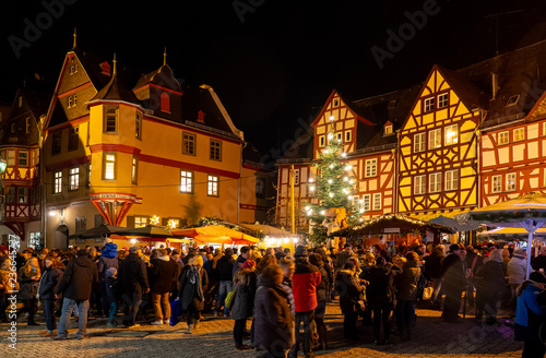 Limburg An Der Lahn Christmas Market 2020 Weihnachtsmarkt Limburg an der Lahn   Buy this stock photo and