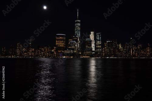 Foto op Aluminium New York Manhattan view with skyscrapers, New York City,