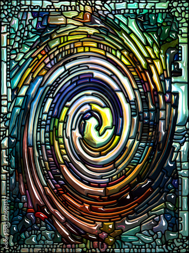 Advance of Spiral Color