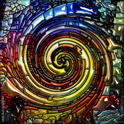 Metaphorical Spiral Color