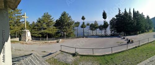 Castelpetroso - Foto panoramica dalla Cappella delle Apparizioni Wallpaper Mural