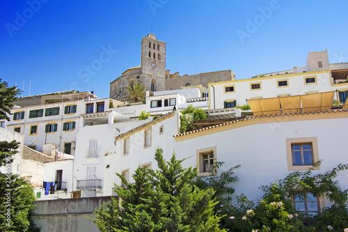 Plakat Stare miasto Ibiza, o nazwie Dalt Vila