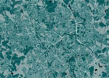 Map Of The City Of Birmingham,...