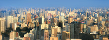 Panoramic View Of SaoPaulo Urb...