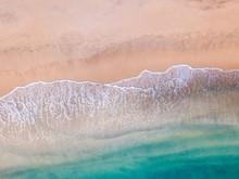Aerial Photo Of Tropical Beach