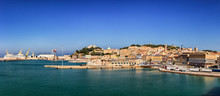 Panoramic View Of The Port Of ...