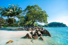 Island Of Kohchang, Thailand. Beach Of Koh Chang.