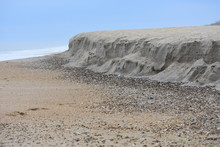 Beach Erosion - Ocean Eats Away Shoreline