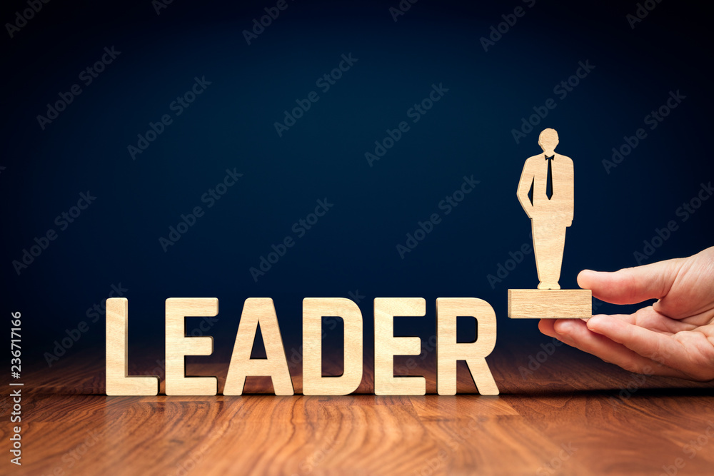 Fototapeta Successful leader