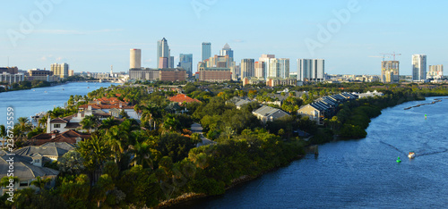 Canvas Prints American Famous Place Tampa Bay FL (USA)