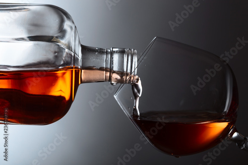 Snifter of brandy.