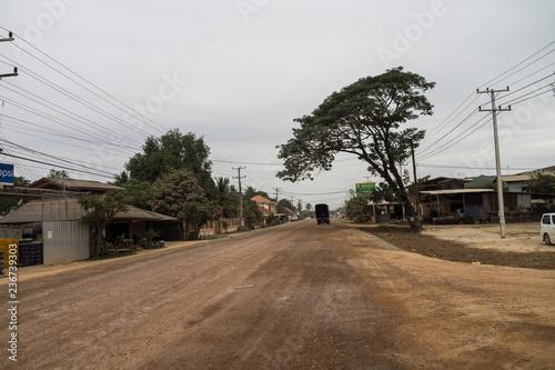 Deurstickers Asia land Laos - Vientiane - Fahrt zum Buddha Park