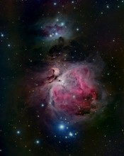 Orion Nebula And Running Man