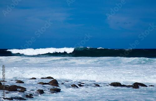 Fotografía  ocean waves breaking