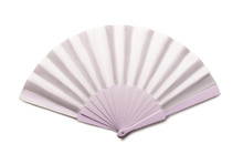 White Folding Hand Fan Mockup ...