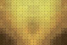 Background Gold Ceramic Tile W...