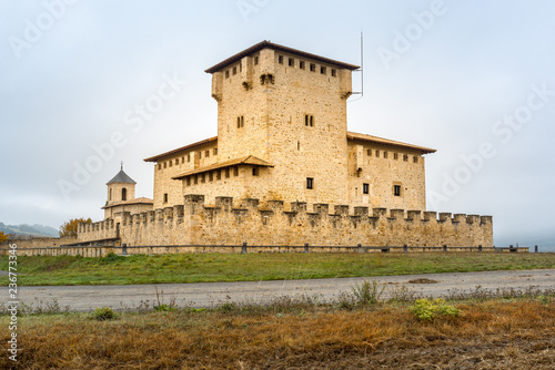 Plakat Wieża pałacu w Varona, Alava, Hiszpania