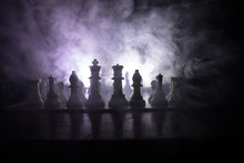 Chess Board Game Concept Of Bu...
