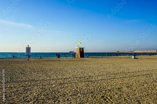 Photo  Dubai Jumeirah Public Beach