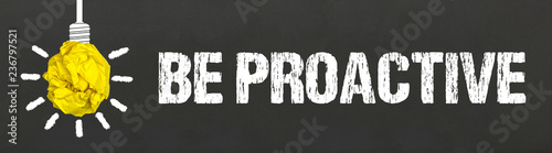 Obraz Be Proactive - fototapety do salonu