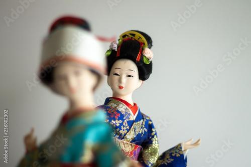 Fotografie, Obraz  Japanese Figurine