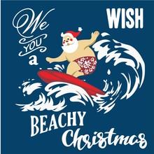 Holiday Illustrations Santa Cl...