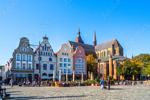 Fotomural Rostock, Neuer Markt, Deutschland